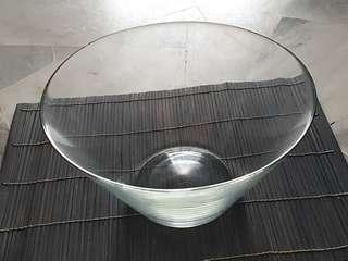 IKEA Clear Glass Serving Bowl
