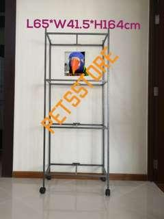 2ft 4-tier cage rack