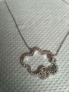 Guess cloud necklace