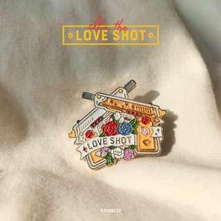 EXO Love Shot Enamel Pins