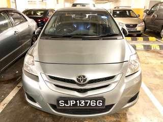 Toyota Vios 1.5A  $320/wk - Car Rental