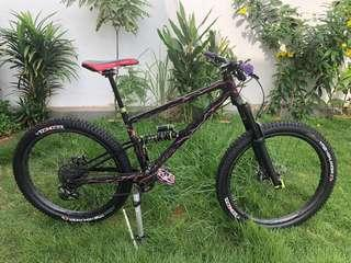 Super Rare Custom Steel Full Suspension (Starling Swoop 27.5)