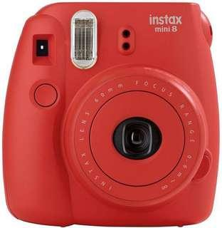 Instax Mini 8 Red
