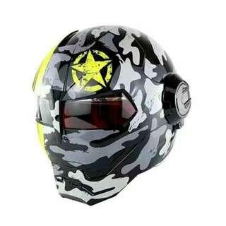 Iron Man Helmet New Design HNJ