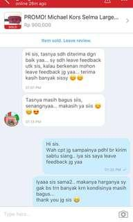 Testi ~ Happy & Satisfied Customer