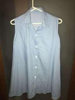 Sleeveless dress XS-S