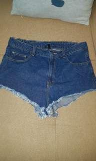 SOLD!! H&M Denim Shorts