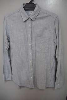 Uniqlo Shirt - Grey Colour