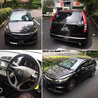 Honda stream (7 seater) mpv for rent