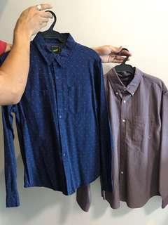 BUNDLE: Men's M Button Ups