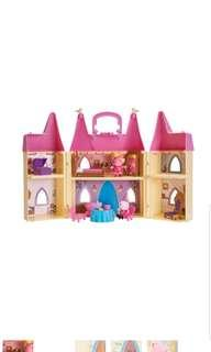 Peppa Pig's Princess Castle Deluxe Playset Peppa Pig Dollhouse Castle