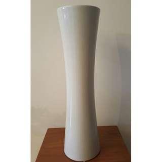 BN*** Tall Floor White Vase