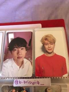 BTS LOVE YOURSELF: HER JIN & JIMIN PC