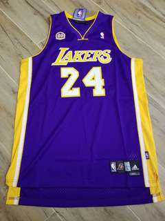 Brand new Adidas Away Lakers Kobe swingman jersey with 60 yrs patch 223e25e24