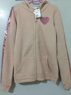 Sale!!! Brand New Original H&M Big Girl Hoody Jacket