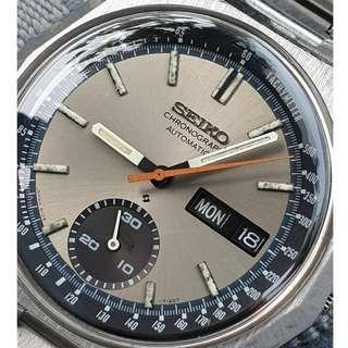 (A355) Vintage Seiko 6139-7080 Chronograph Watch