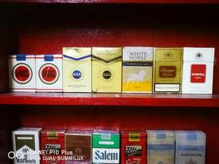 Tin rokok lama, antik, vintage, kuno, rare