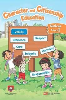 Character and Citizenship Education Primary 1 Textbook (EL)