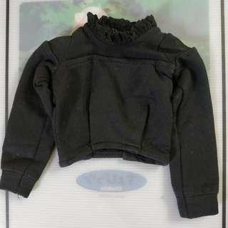 1/4 BJD MSD MDD Shirt Black