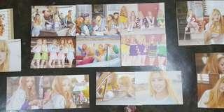 Red Velvet Ice Cream Cake official postcard set