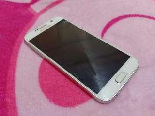 Samsung s6 flat white