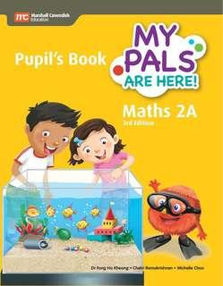 Brand New My Pals Are Here Maths 2A & 2B Pupil's Book