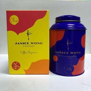 Janice Wong Toffee Popcorn Tea Leaves 120g