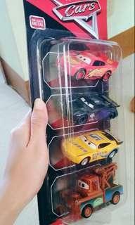 Cars 3 Metal Cars McQueen Tow Mater Jackson Storm Cruz Ramirez