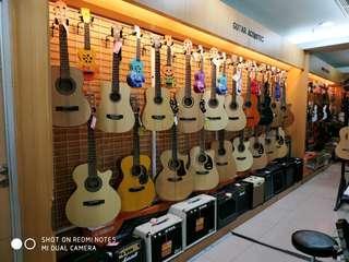 Gitar Akustik Bisa Kredit PROMO BUNGA 0% mudah dan Cepat
