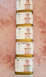 Applecrumby & Fish Pull Up Diapers Size M (2 packs left)