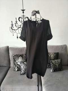 NEW! Black OL Dress