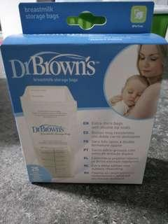 Dr brown milk storage bags