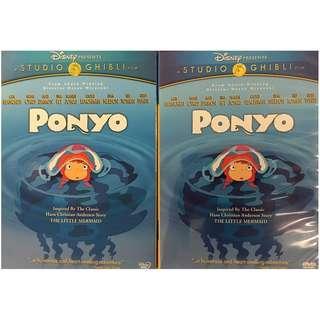 DVD - PONYO 2-DISC EDITION (ORIGINAL USA IMPORT CODE 1)