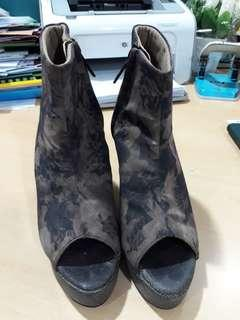 Wedges Angkle Boots