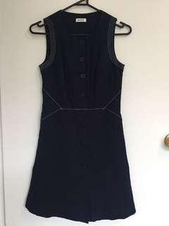 MARCS Navy Dress size 4