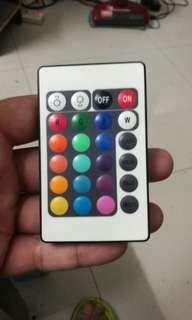 Mini IR remote controller for RGB