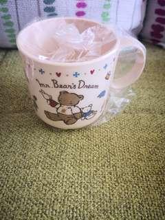 Mr Bear's Dream 1995年日本絕版靚靚膠杯