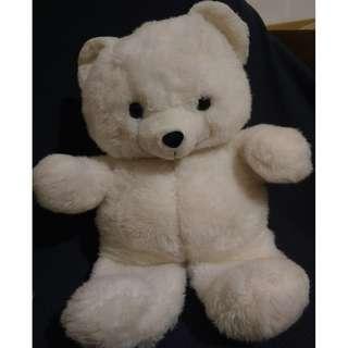 大白熊 絨毛娃娃 玩偶 布偶
