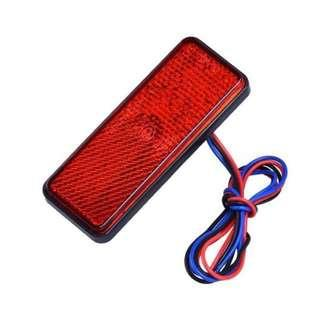 🚚 Red LED Reflector (Free Normal Mail)