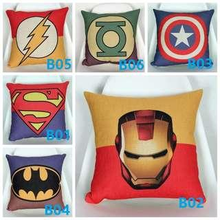 🚚 Marvel Superhero Avenger Collection Creative Cushion Cover