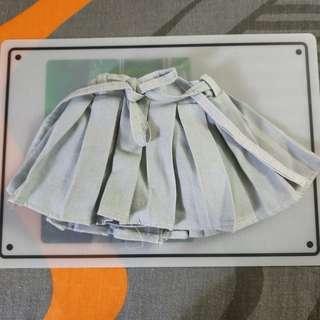 1/3 BJD DD Light Blue Skirt