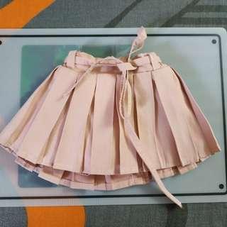 1/3 BJD DD Light Pink Skirt