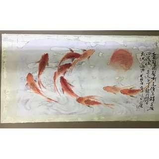 Chinese Painting of Fish