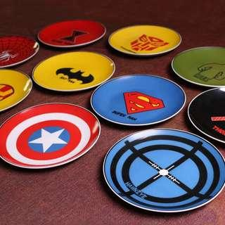 Little Heroes Meal Plate - 6R1  Size: 20.5cm Material: Porcelain