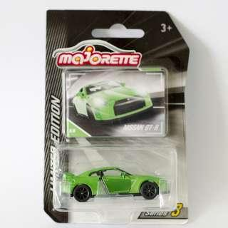 Majorette Nissan GT-R (Limited Edition) R35 --not Hot Wheels