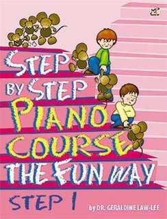Step by Step Piano Course The Fun Way Step 1