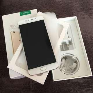 Oppo r9s with warranty and receipt