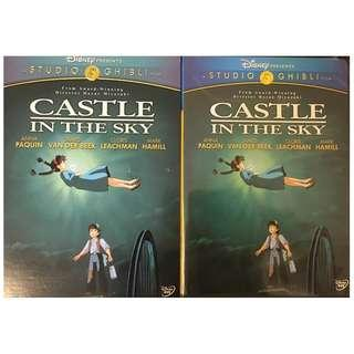 DVD - CASTLE IN THE SKY 2-DISC EDITION (ORIGINAL USA IMPORT CODE 1)