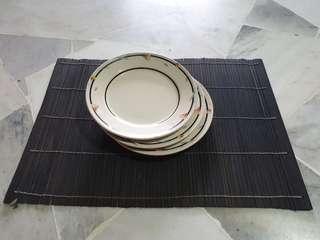 Ocera Porcelain Plates
