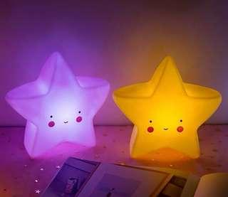 Instock Night Light LED Star Cloud Moon Genie Ice Cream Different Designs Available